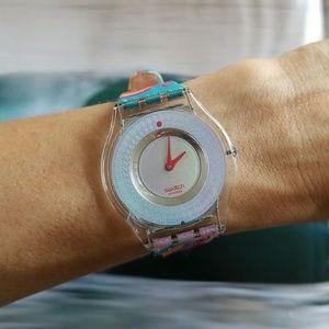 "Swatch ""Sundari"" Skin watch"